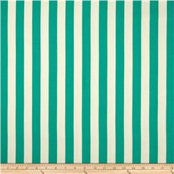 World Wide Striped Lines Jade Fabric