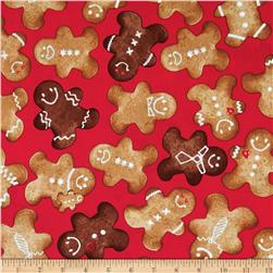 Winter Novelties II Gingerbread Red