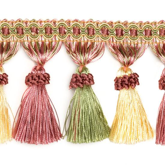 Decorative Trim Regal Tassel Fringe Pastel