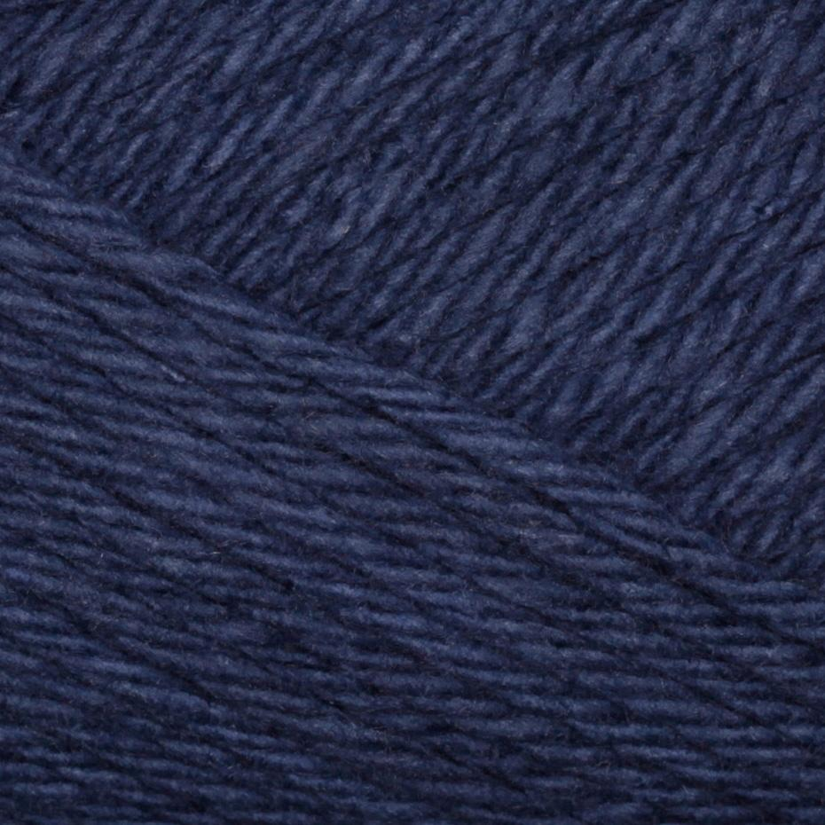Lion Brand Lion Cotton Yarn (110) Navy
