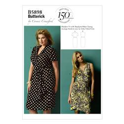 Butterick Misses'/Women's Dress Pattern B5898 Size MIS