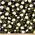 Poppy Celebration Poppies All Over Ivory/Black