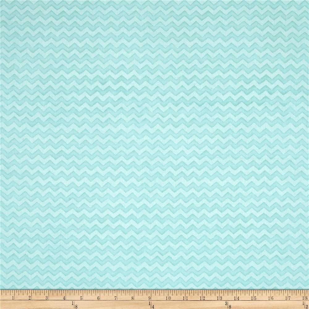 Two by Two Chevron Turquoise
