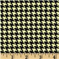 Mountain Majesty Houndstooth Black/Yellow
