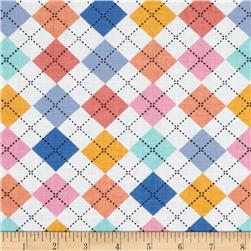 Newcastle Novelties Argyle Multi Fabric