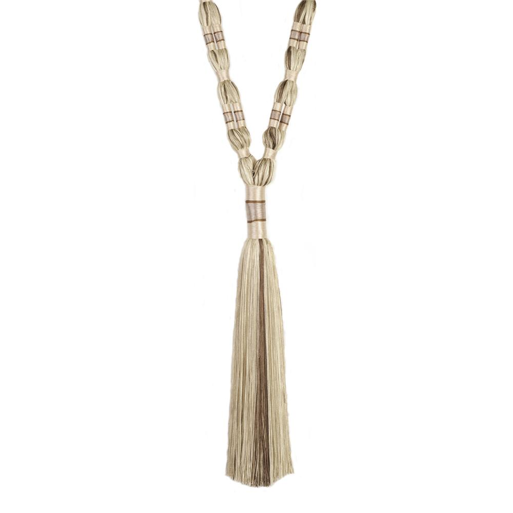 "Trend 33"" 02660 Single Tassel Tieback Camel"