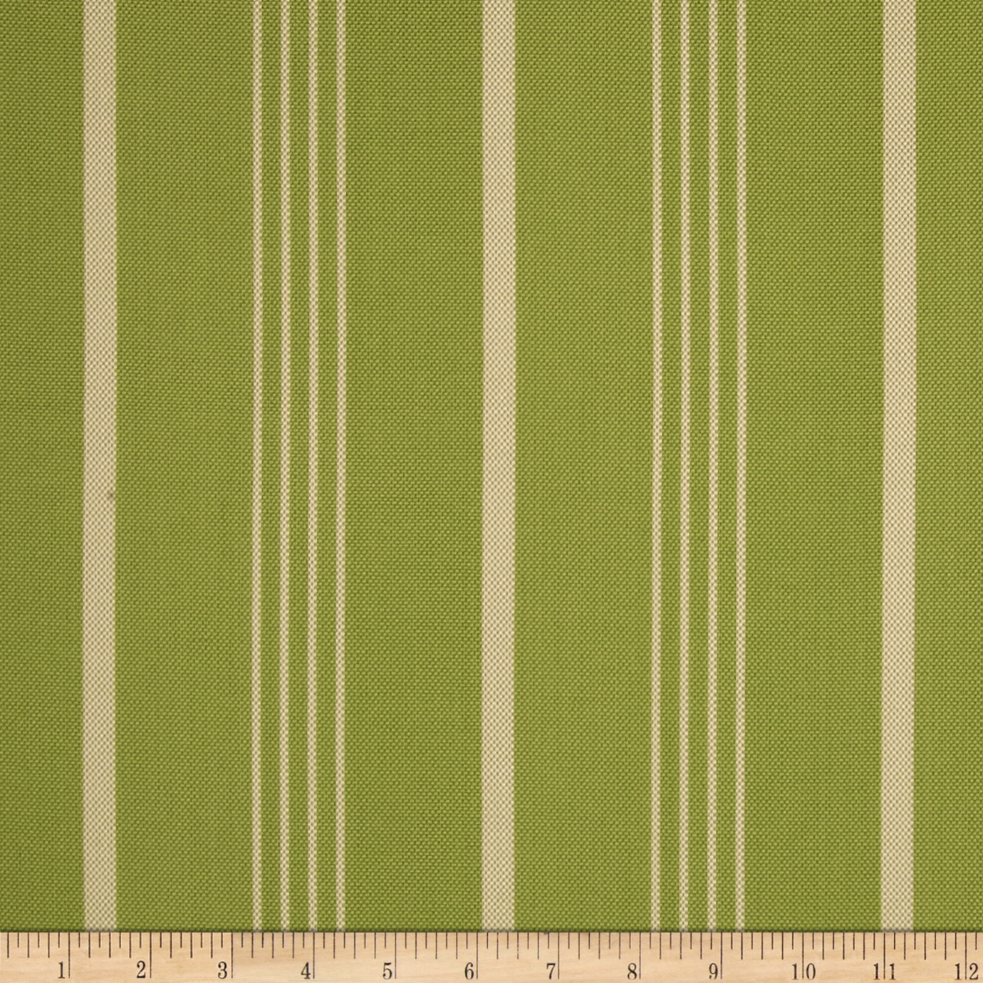 Nautica Indoor/Outdoor Hammock Stripe Palm Green Fabric