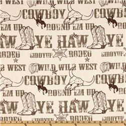 Premier Prints Cowboy Kelp/Natural
