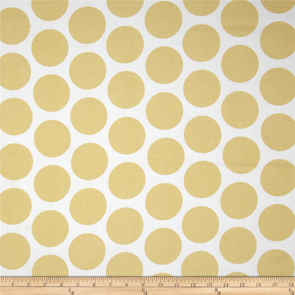 Premier Prints Fancy Dot Saffron Yellow