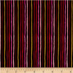 Loralie Designs On The Mend Garden Stripe Black