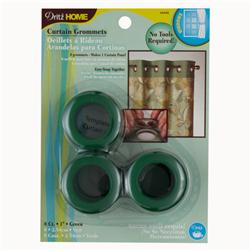 "Curtain Grommets 1""  Green"