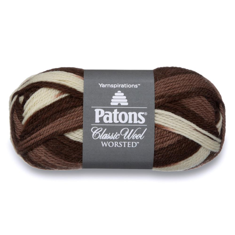 Patons Classic Wool Yarn (77013) Heath Ombre