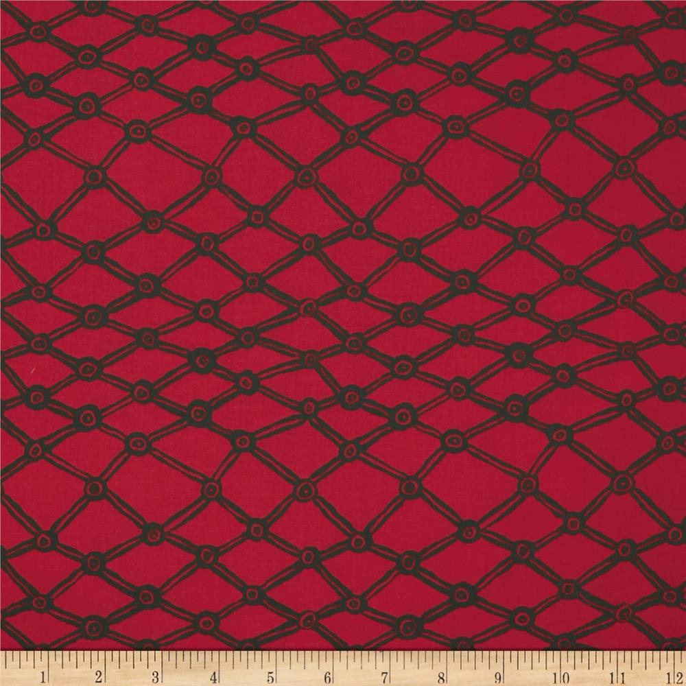Kaffe Fassett Collective Nets Red