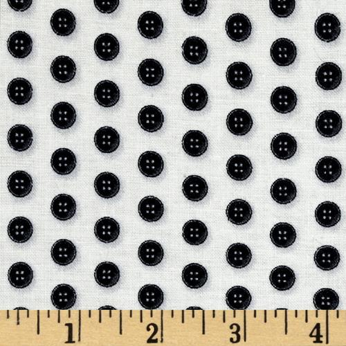 Thimble Pleasures Buttons Beige/Black