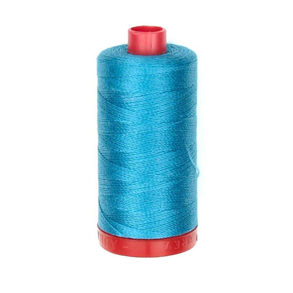 Aurifil 12wt Embellishment and Sashiko Dreams Thread Medium Turquoise
