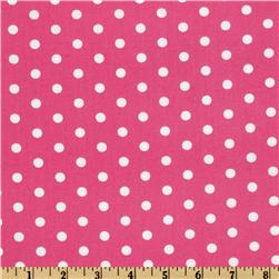 Pimatex Basics Polka Dot Primrose/White Fabric