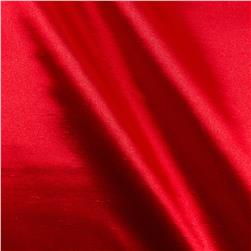 Shantung Sateen Red Fabric