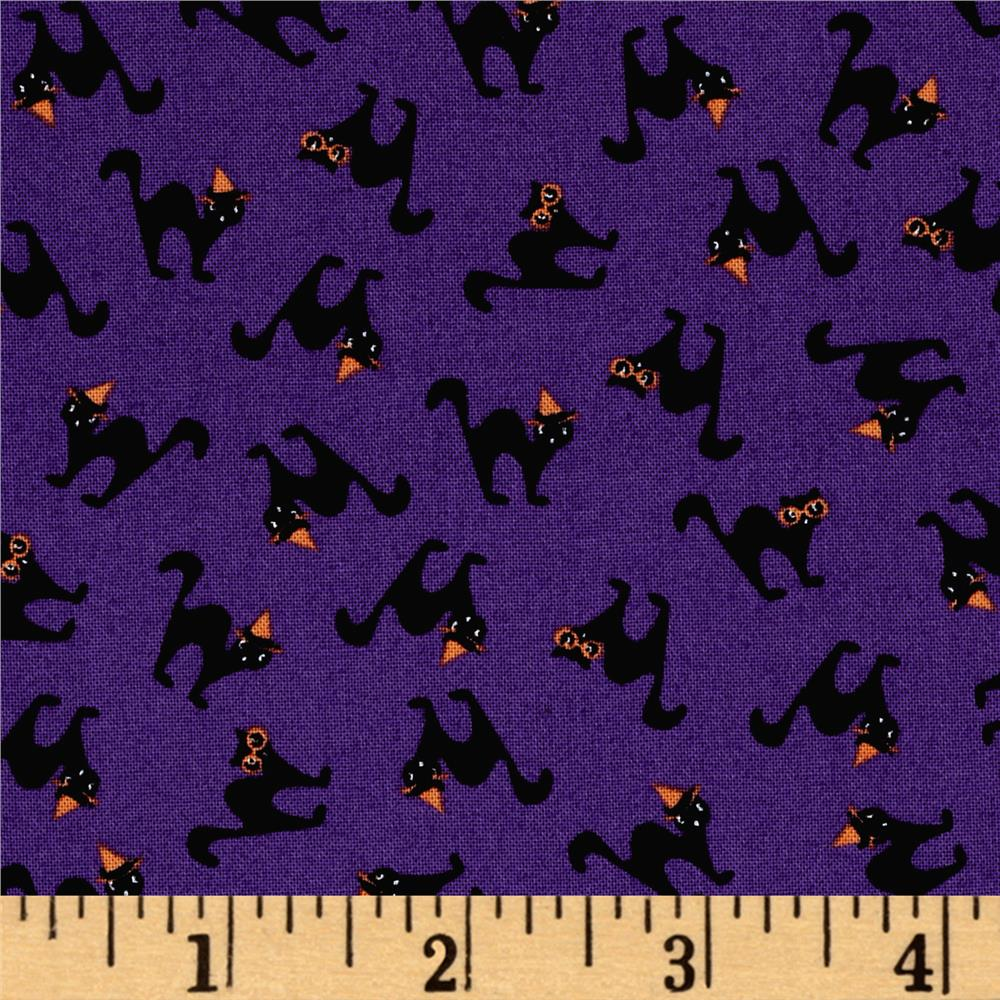 Moda Spooky Delights Scaredy Cats Potion Purple