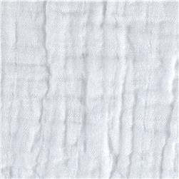 Bambino Double Gauze Solid White