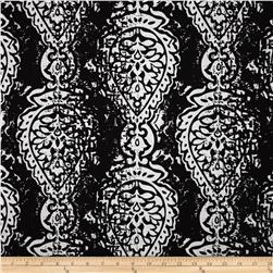 Premier Prints Indoor/Outdoor Manchester Black Fabric