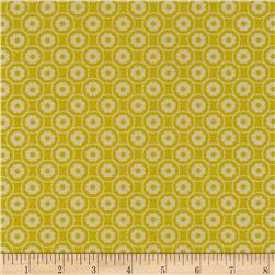 Zest Pearlescent Dazy Pearl Yellow Fabric
