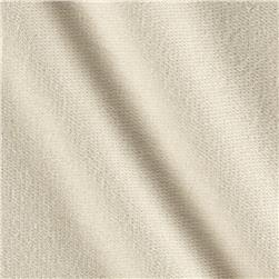 French Terry Knit Solid Ivory