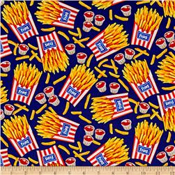 Takeout French Fries Navy