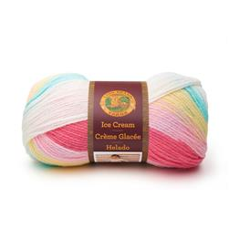 Lion Brand Yarn Ice Cream Tutti Frutti