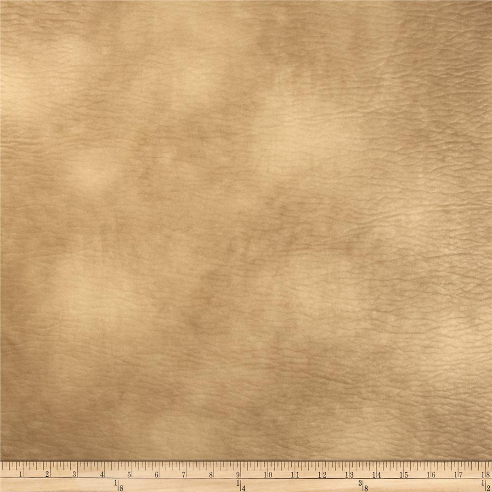 Richloom Faux Leather Lofted Entity Latte