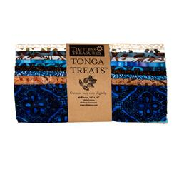 "Timeless Treasures Tonga Batik Treats Capri 10"" Squares"
