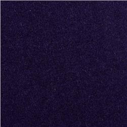 Wool Blend Melton Purple
