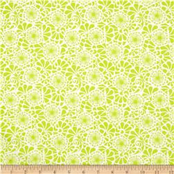Popsicle II Floral Lime