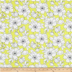 The Coloring Collection Floral Yellow