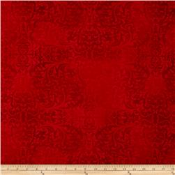 Holiday Elegance Damask Red