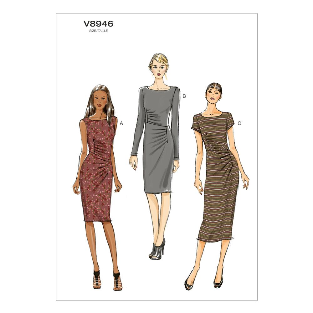 Vogue Misses' Dress Pattern V8946 Size B50