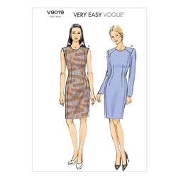Vogue Misses'/Misses' Petite Dress Pattern V9019 Size A50