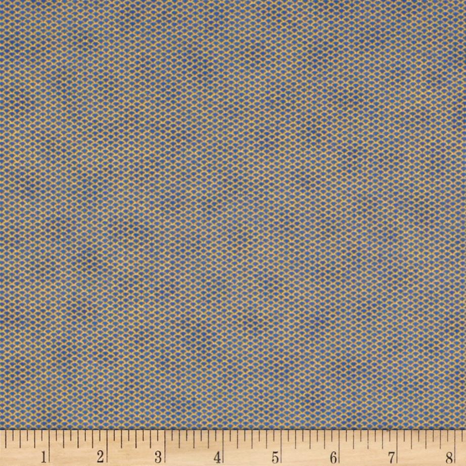 Florence Metallic Mini Mesh Frost Blue