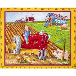 Tractor Mac Panel Yellow