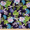 Tracy Porter Ardienne Large Floral Purple