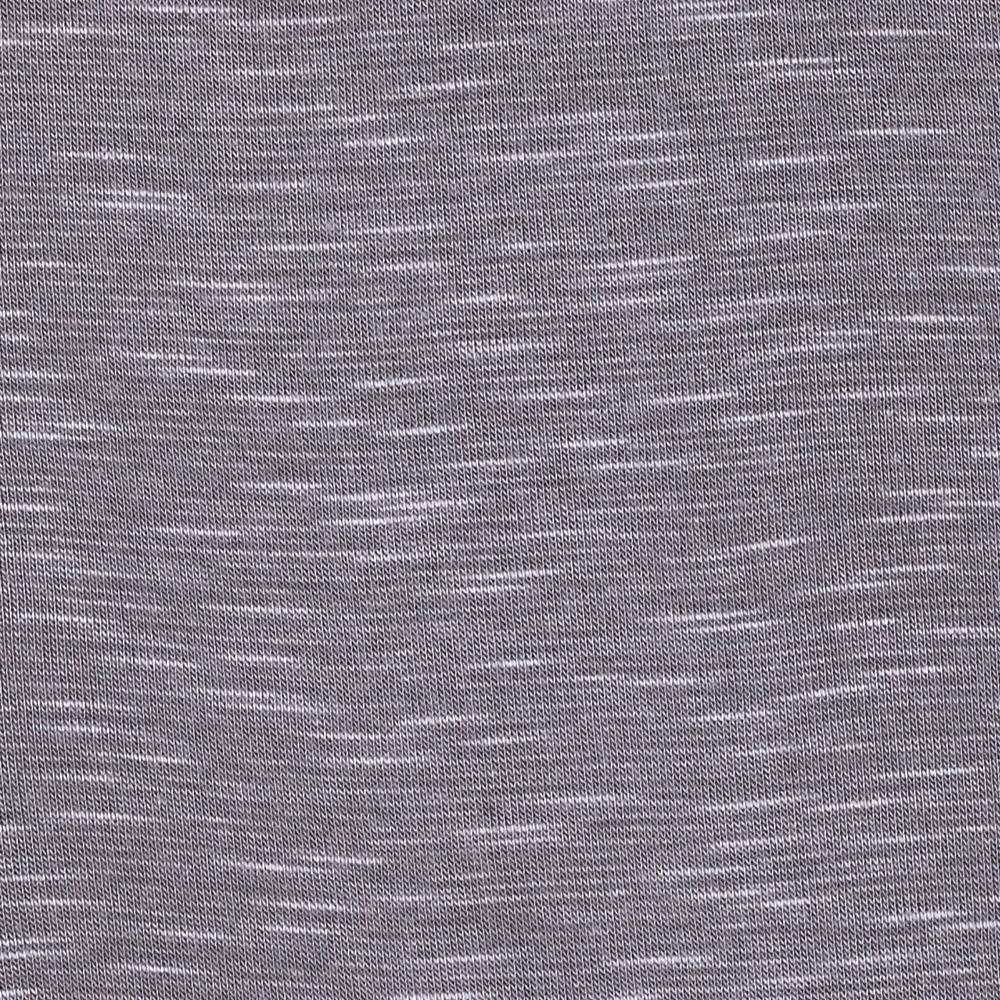 Arianne Stretch Slub Jersey Knit Grey