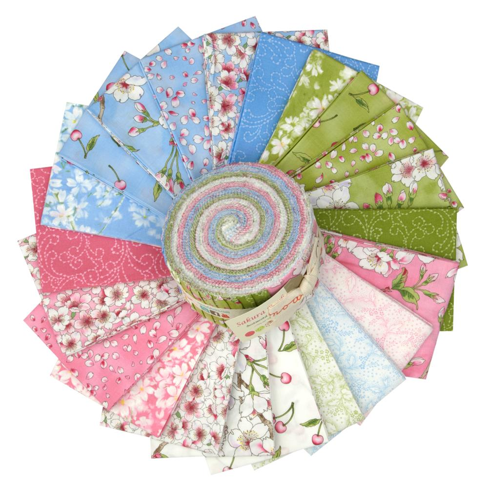 "Moda Sakura Park 2 1/2"" Jelly Roll"