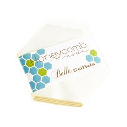 Moda Bella Solids 6'' Honeycomb White