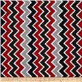 Riley Blake Speedster Sporty Chevron Red