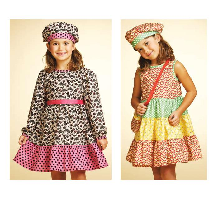 Designer Dress Patterns For Children zoom Kwik Sew Girls Dresses
