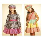 Kwik Sew Girls' Dresses, Hat & Bag Pattern