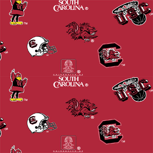 Collegiate Fleece University of South Carolina Tossed