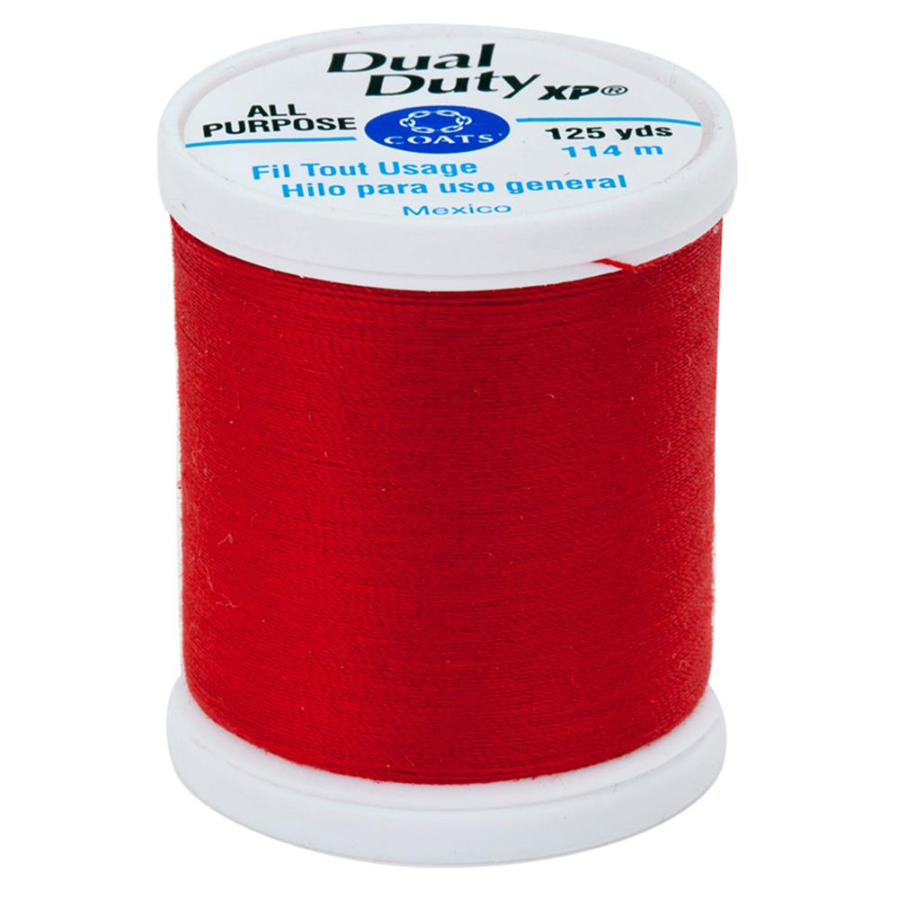 Coats & Clark Dual Duty XP 125yd Atom Red