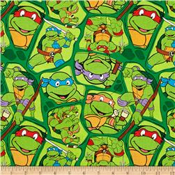 Nickelodeon Teenage Mutant Ninja Turtles Heroes in a Half Shell Toss Green
