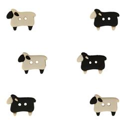 Dress It Up Embellisment Buttons  Sheep