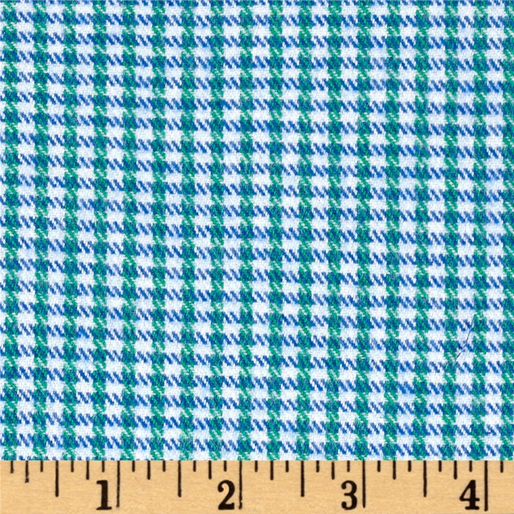Marcus Primo Plaids Color Crush Flannel Small Check Blue/Green
